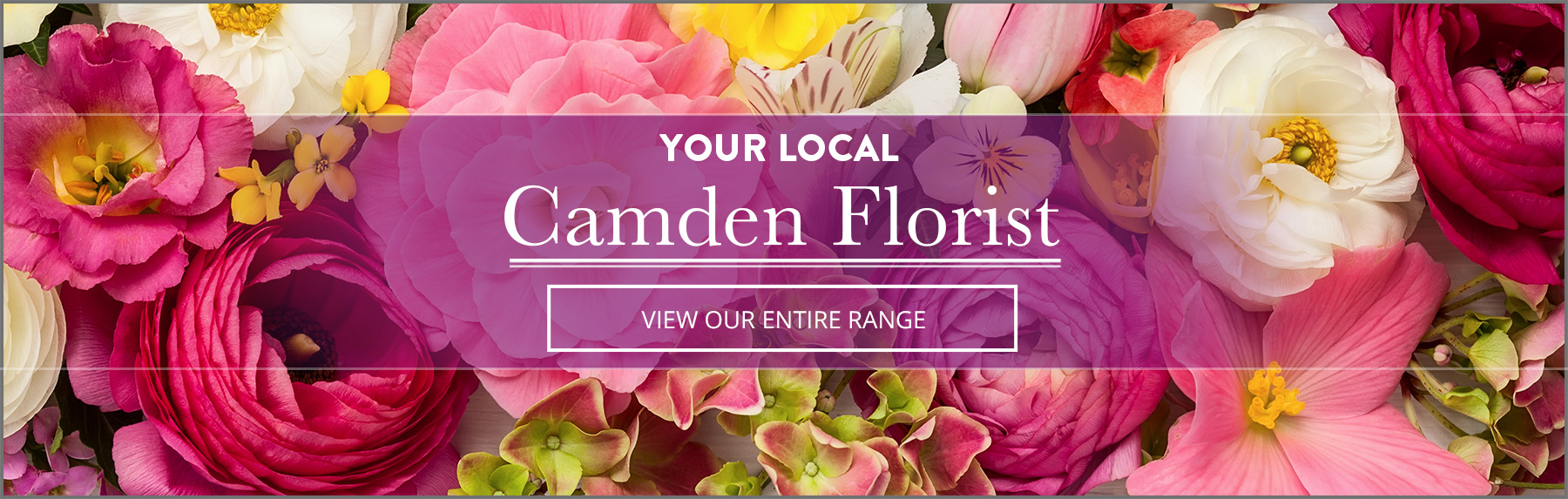 Your local camden florist - View our entire range