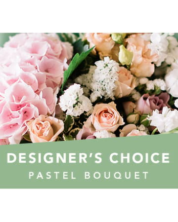 Pastel Designer`s choice bouquet