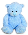 Large Blue Teddy